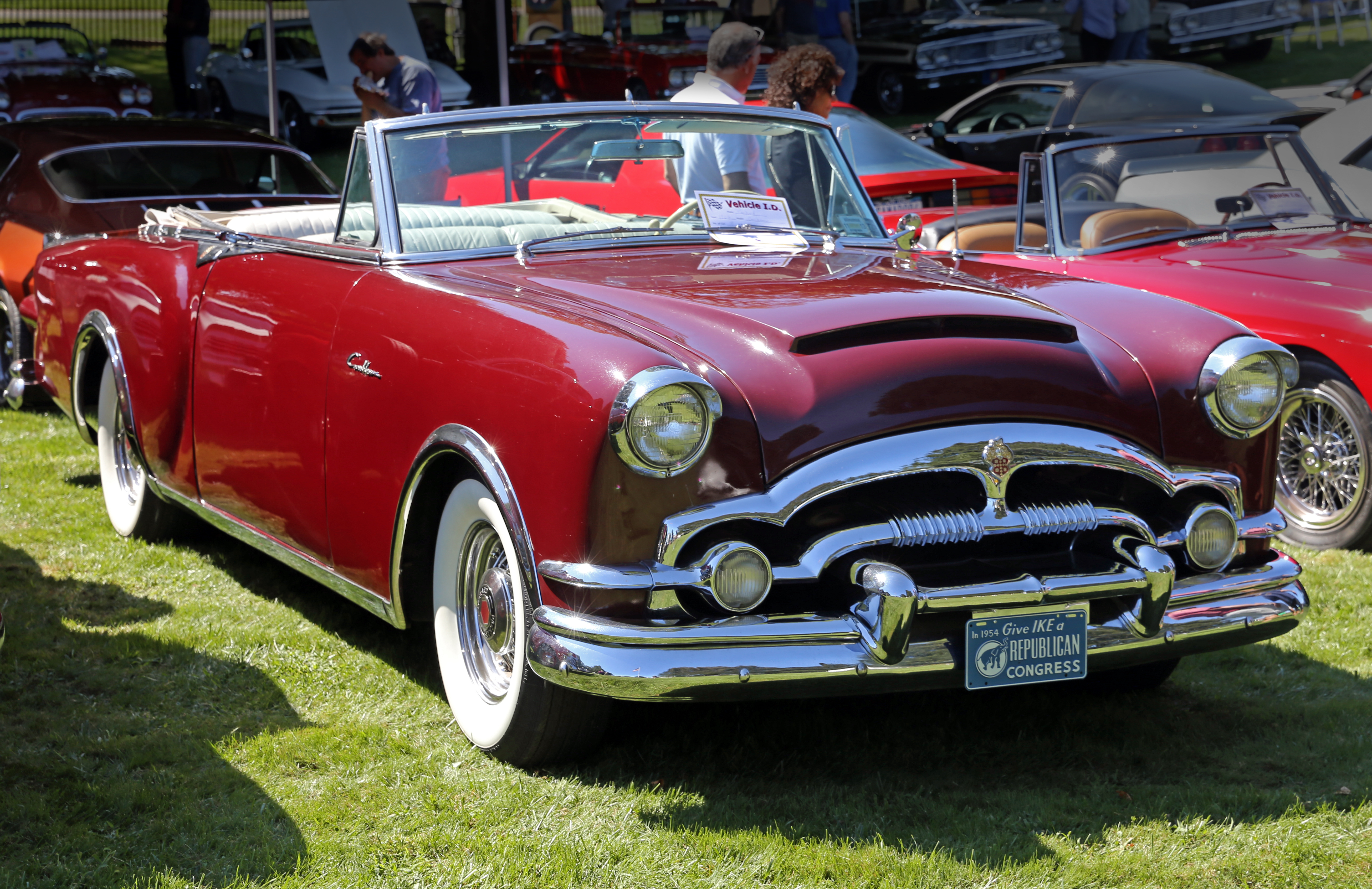 File:1953 Packard Caribbean convertible, Water Mill.jpg ...