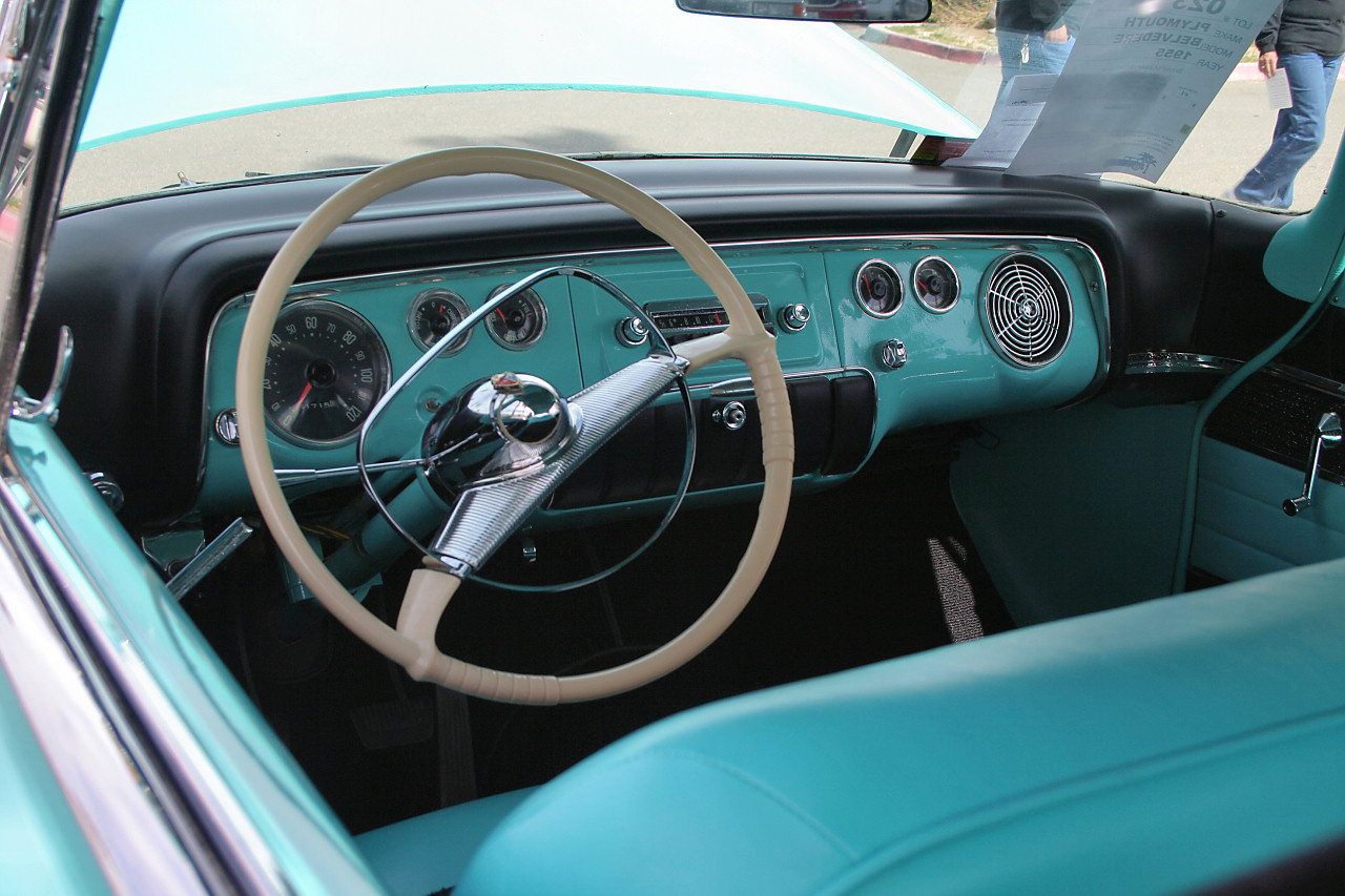 1955 chevy headlight wiring 1955 chevy truck wiring diagrams automotive file 1955 plymouth belvedere 2dr ht interior jpg