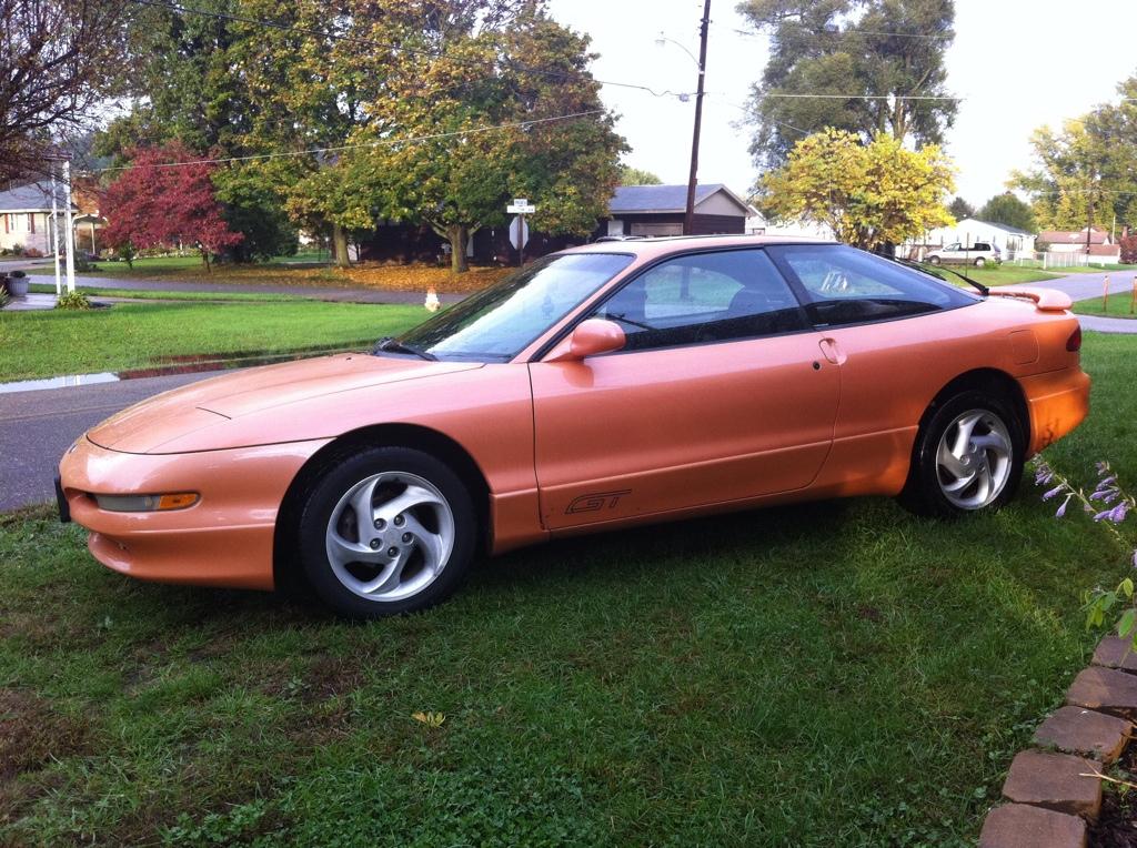 1995 ford probe base 2dr hatchback 2 0l manual rh carspecs us 1990 Ford Probe 1995 ford probe service manual