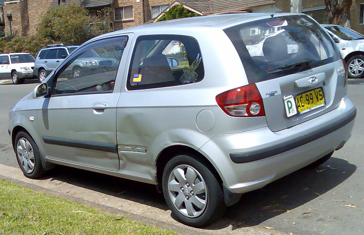 File:2003-2005 Hyundai Getz (TB) GL 3-door hatchback (2008-10-17 ...