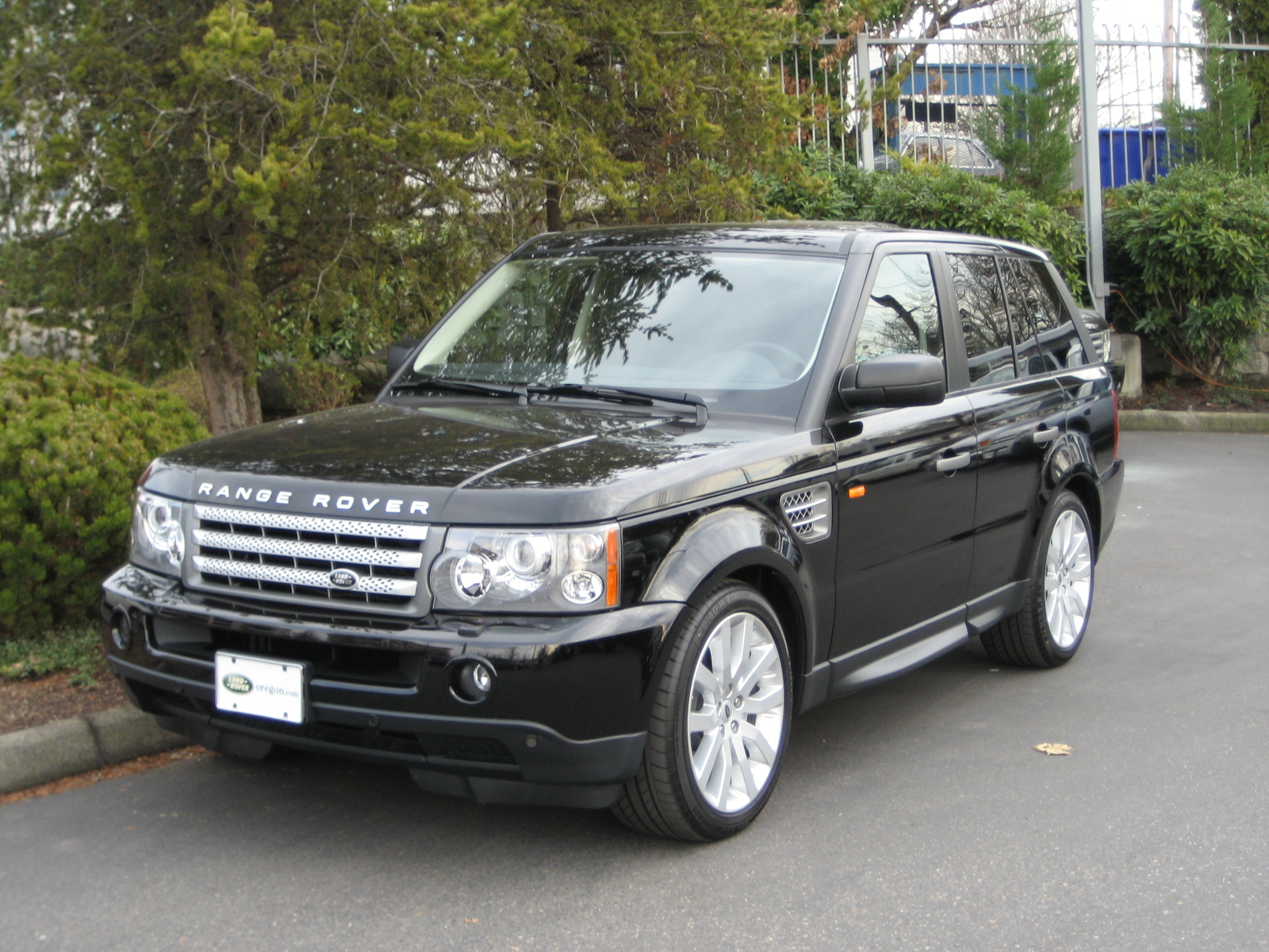 file 2007 range rover sport wikimedia commons. Black Bedroom Furniture Sets. Home Design Ideas