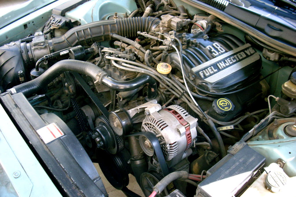 Ford Essex V6 Engine  Canadian