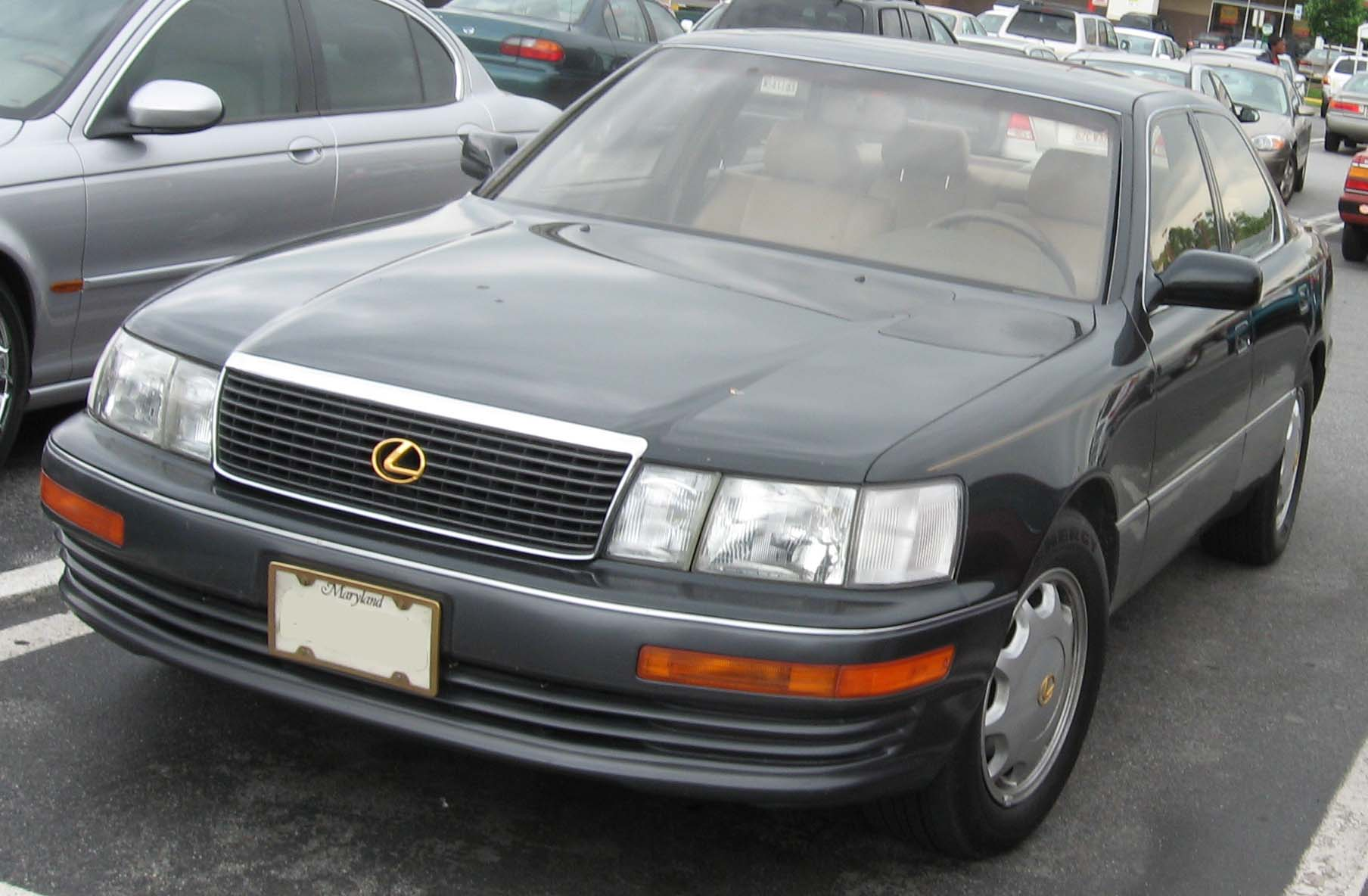File:93-94 Lexus LS400.jpg - Wikimedia Commons