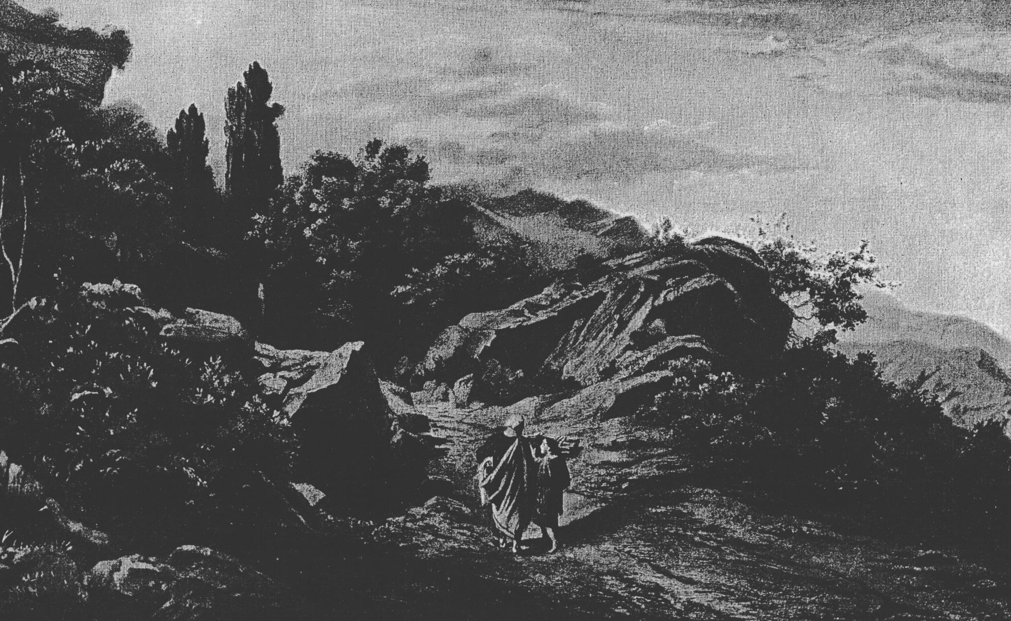 File Abraham Climbs Mount Moriah Jpg Wikimedia Commons