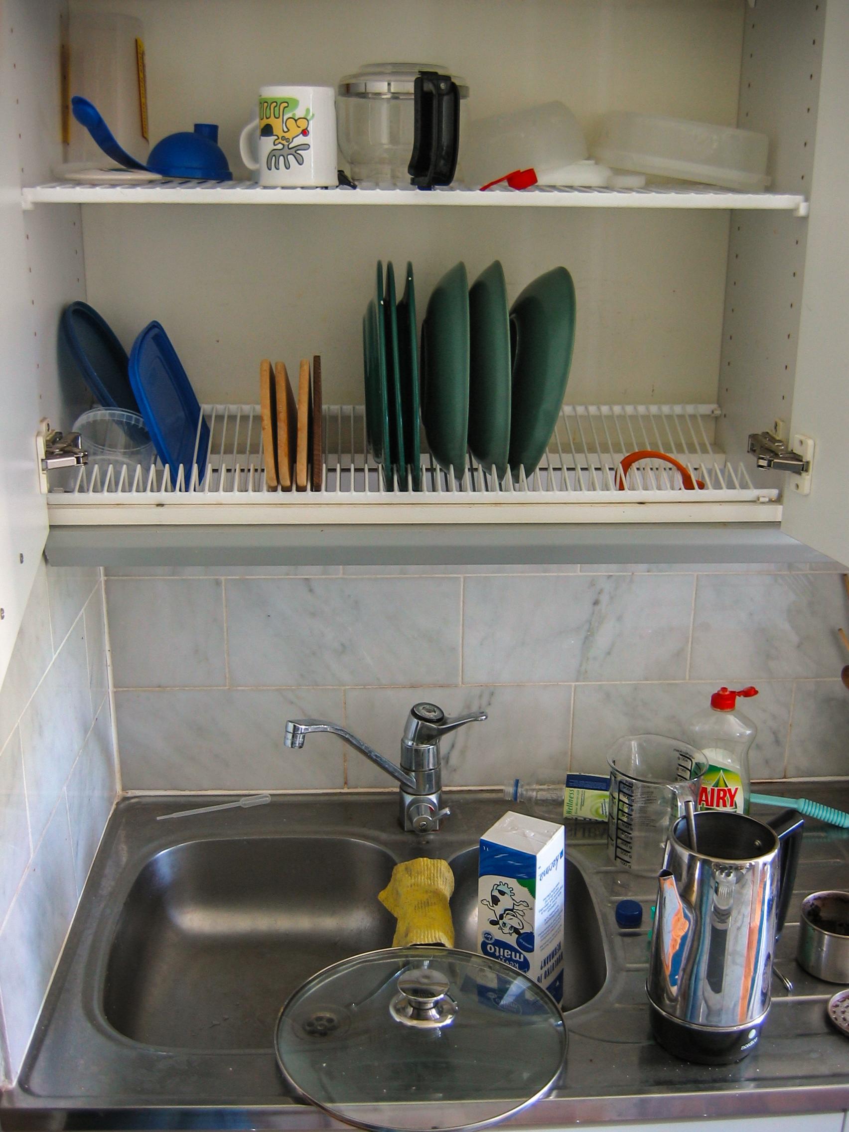 Hängeschrank Küche Klapptür