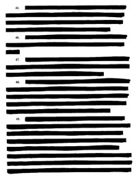 Image result for images of redacting confidential info