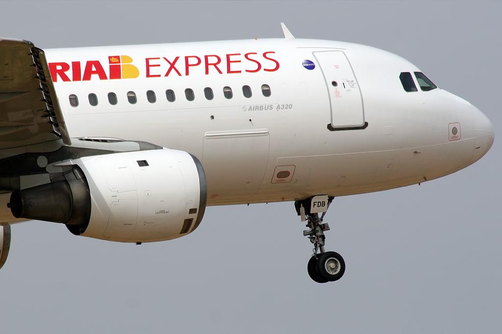 Aérienne Iberia Express (Iberia Express). Sayt.2 officiel