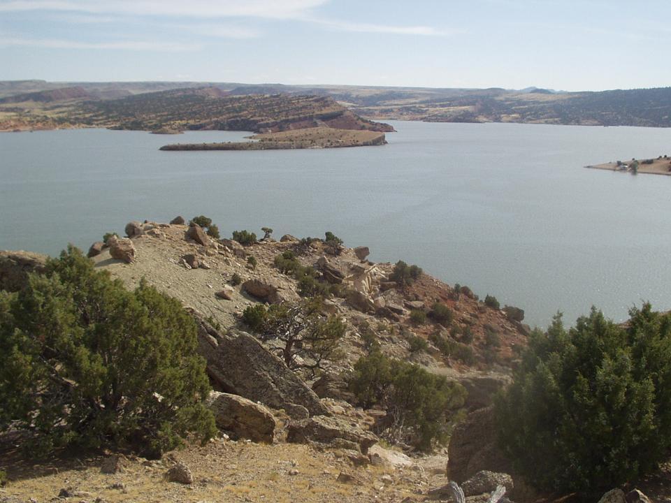 File Alcova Reservoir Near Casper Wyoming Jpg