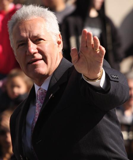 alex trebek no pants