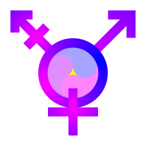 Another Yin-Yang-Yuan TransGender-Symbol