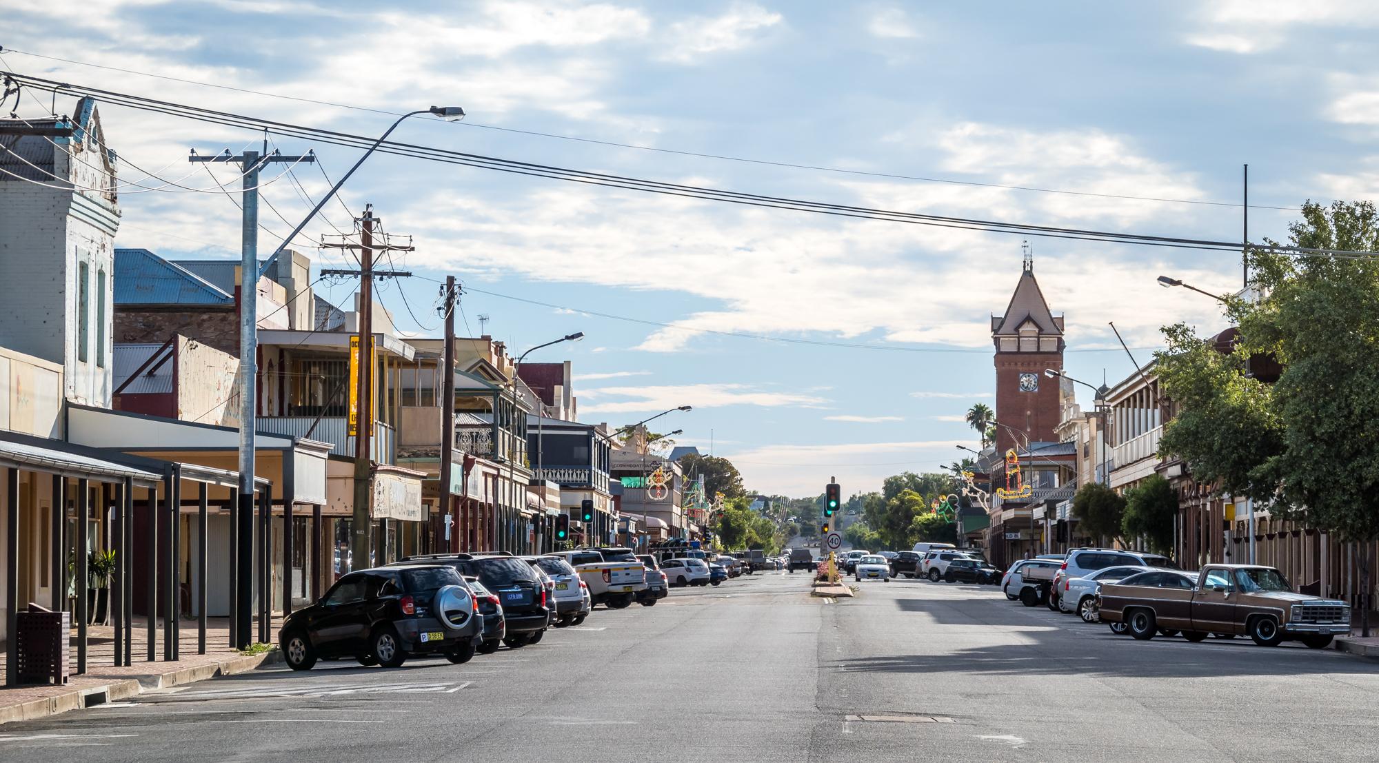 Broken Hill Car Hire Wd