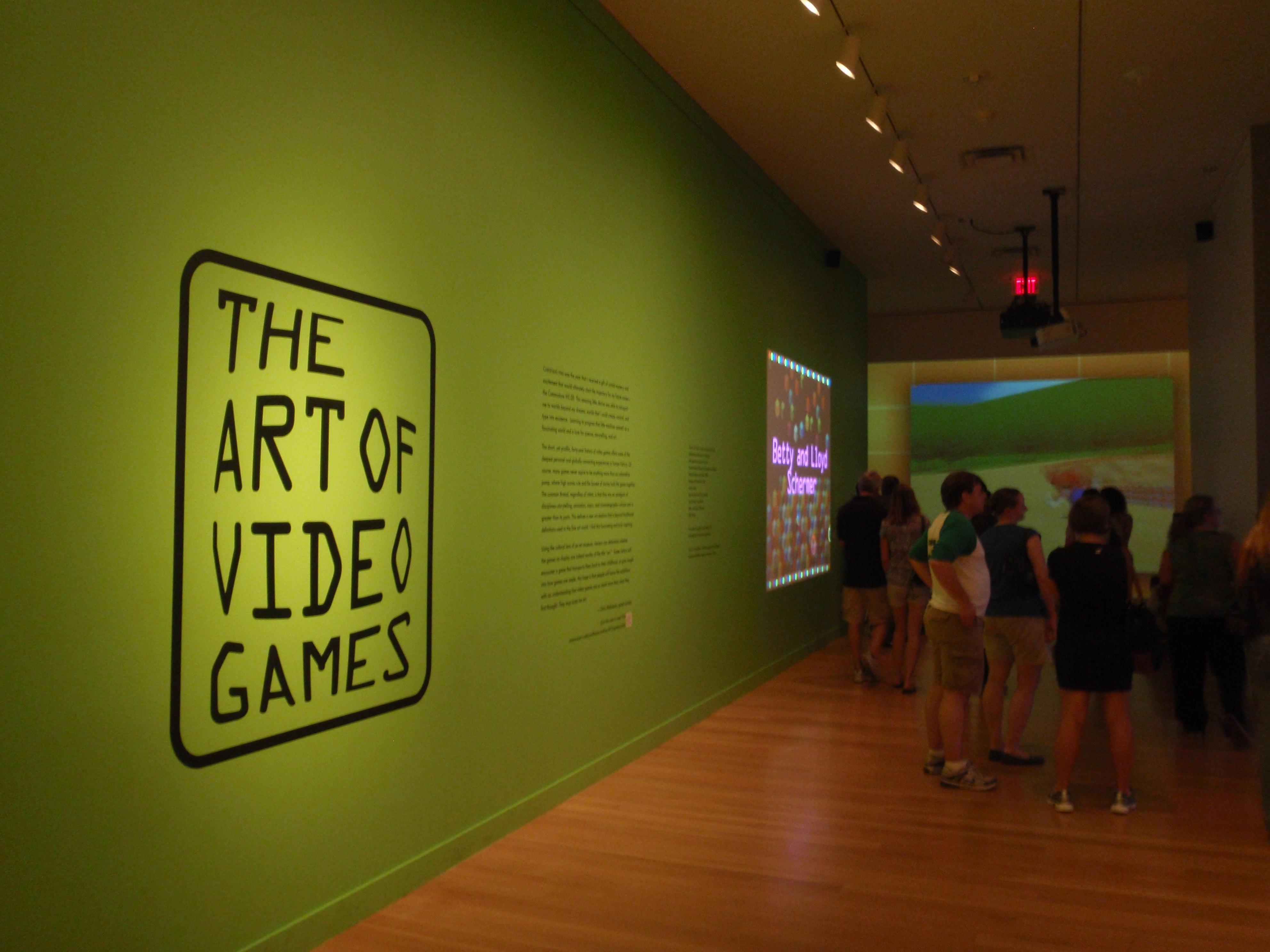 Datei Art Of Video Games Exhibit Entrance National Portrait