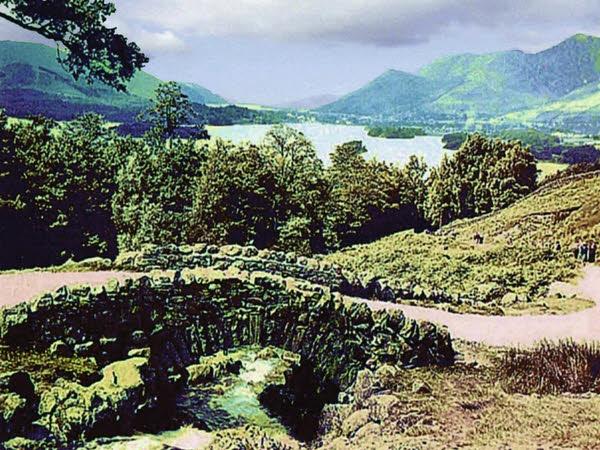 Ashness Bridge 1954 - geograph.org.uk - 977574