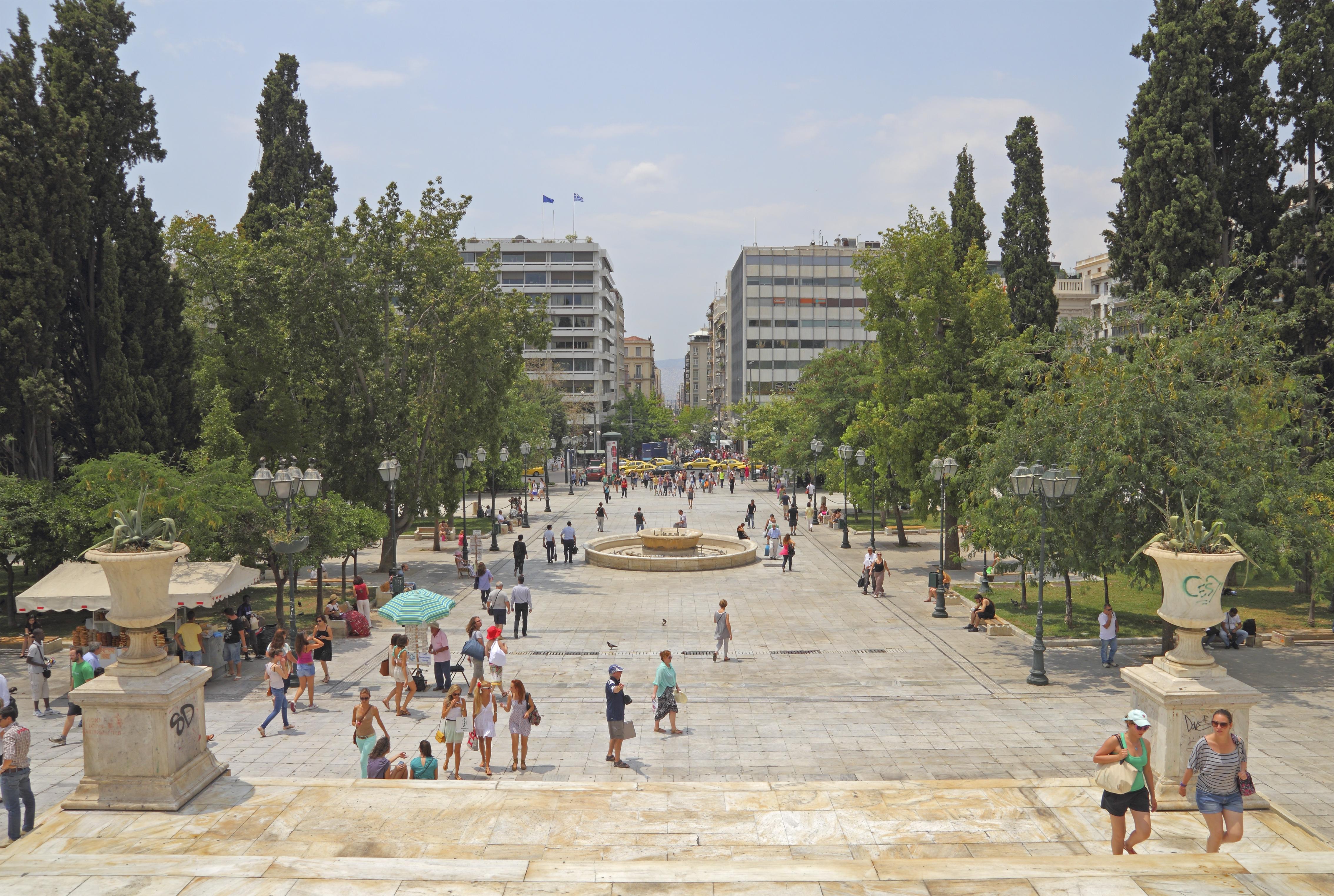 Sintagma plaza