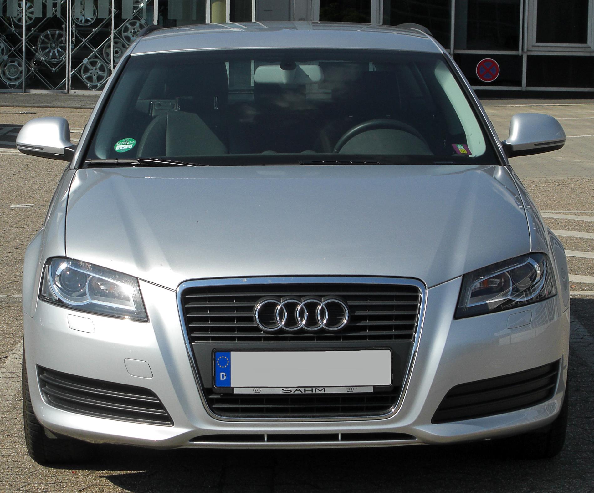 Audi A 3 2010 >> File:Audi A3 1.4 T Sportback 8PA II. Facelift front-1 20100718.jpg - Wikimedia Commons