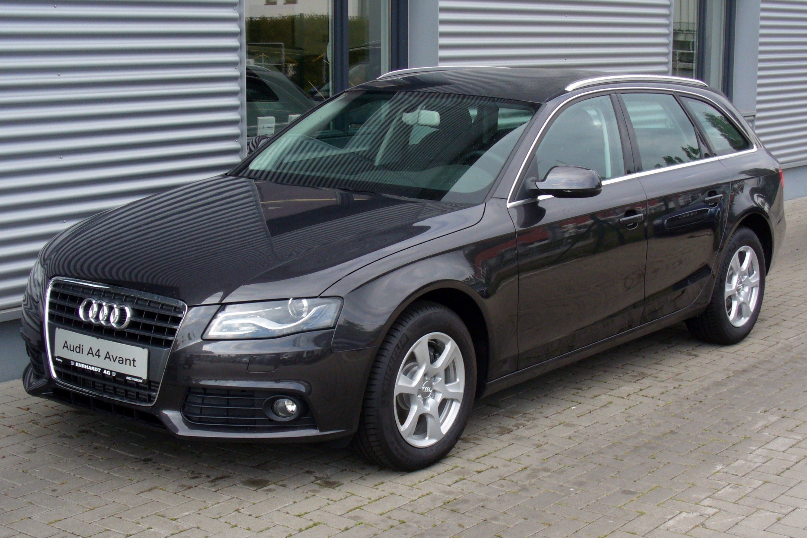 file audi a4 avant attraction 2 0 tdi lavagrau jpg wikimedia commons. Black Bedroom Furniture Sets. Home Design Ideas