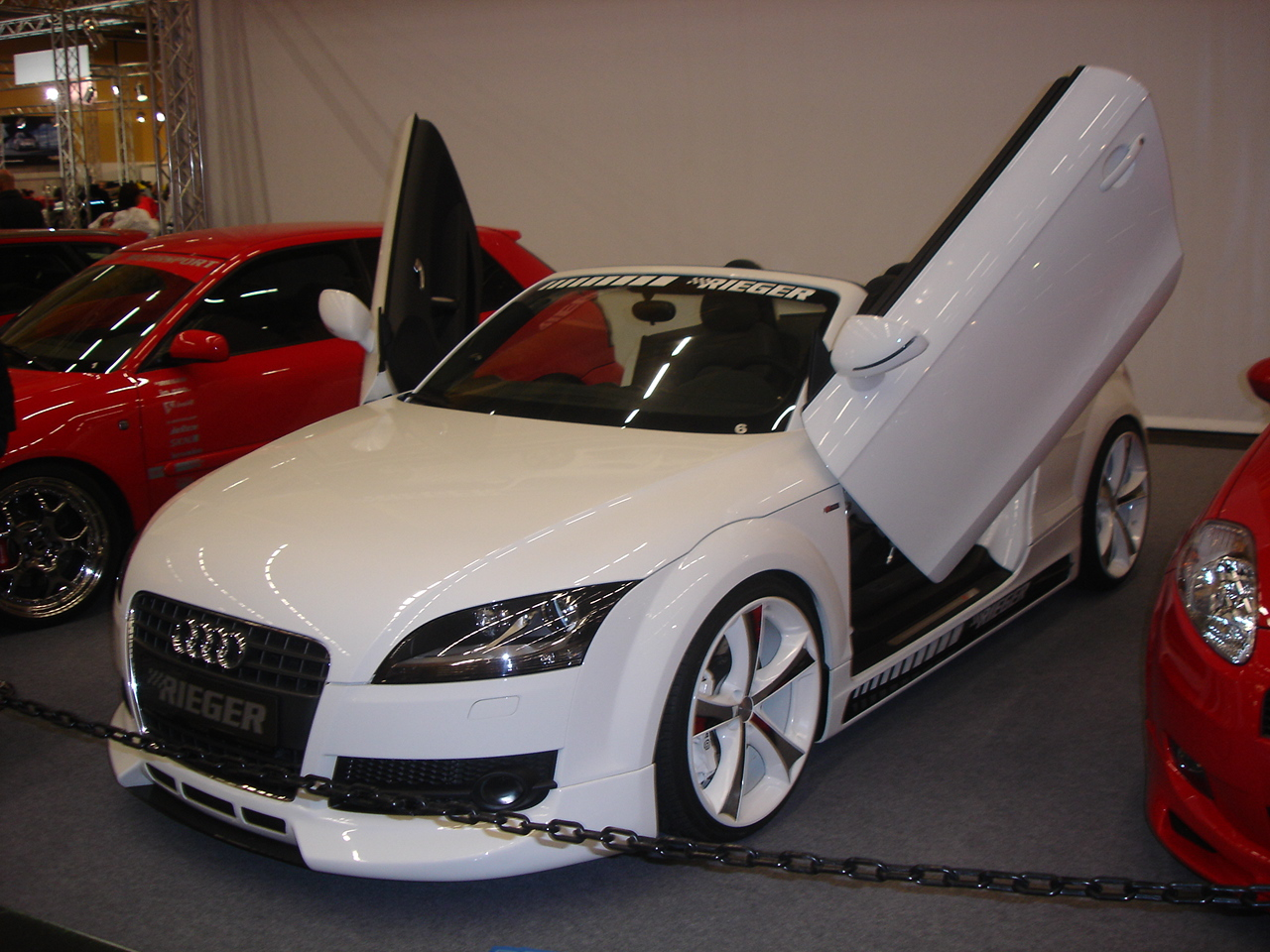 2007 Audi TT Roadster  Wallpaper