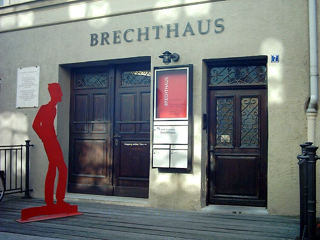 «Дом Брехта» в Аугсбурге; в настоящее время— музей