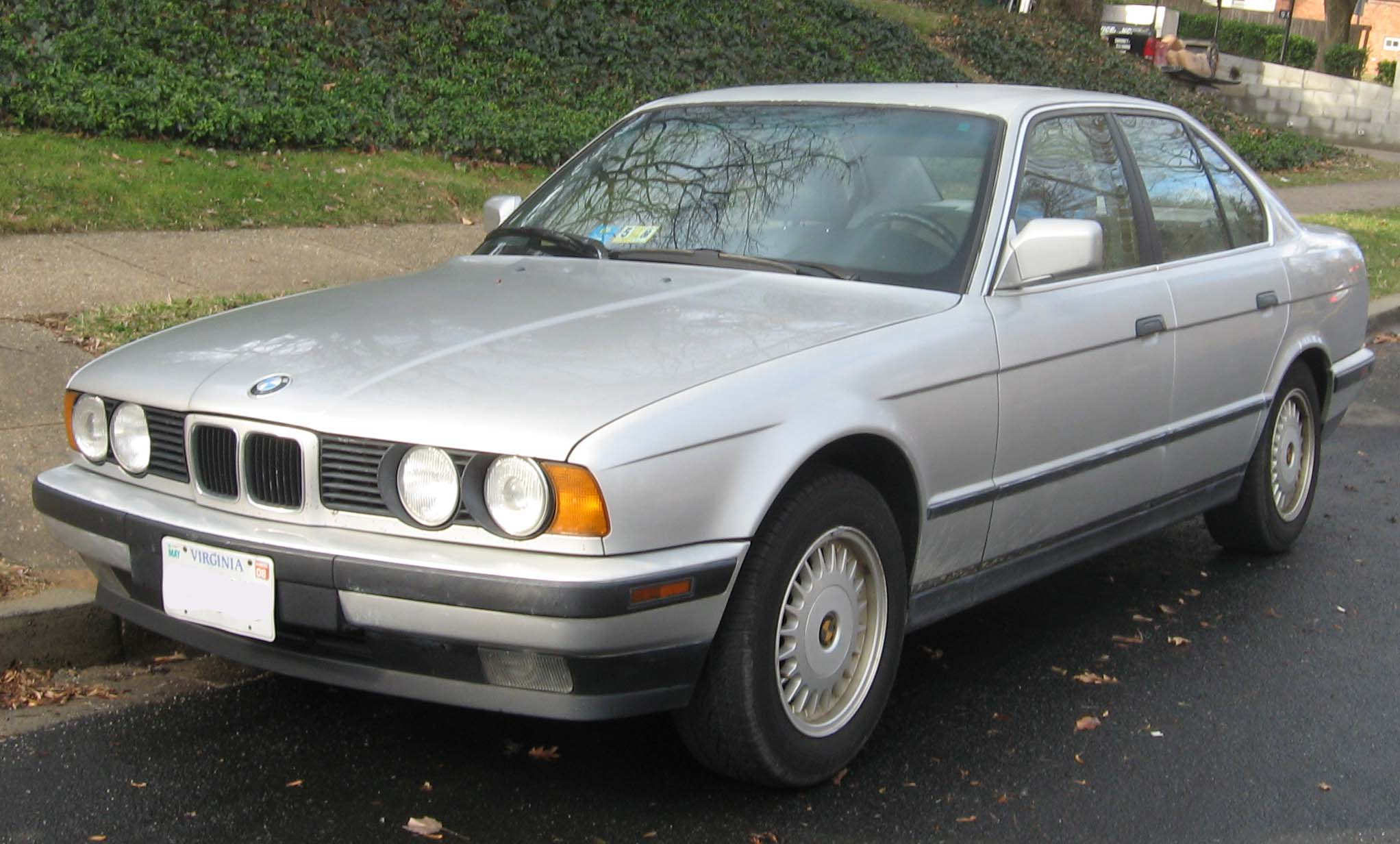 File Bmw 525i E34 Jpg Wikimedia Commons