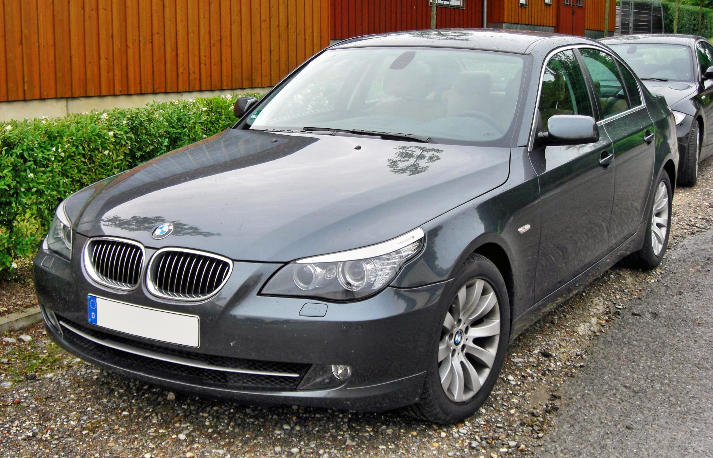 File Bmw 530i E60 Facelift 20090615 Front Jpg Wikipedia