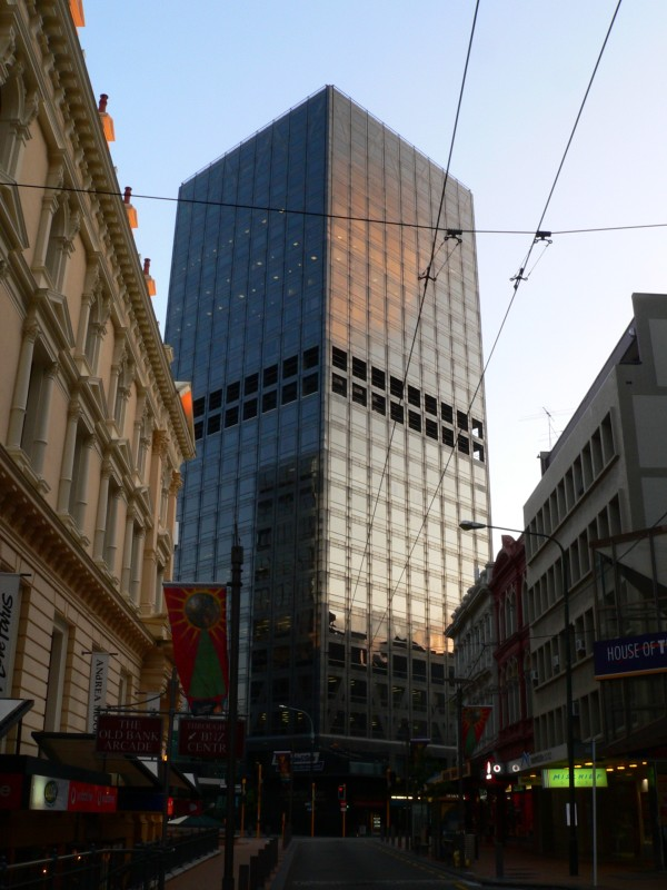 If the building could be the home to a super villain or for 1 the terrace wellington