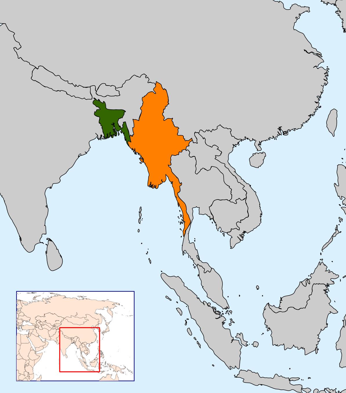 Rohingya crisis: Military build-up on Myanmar border with Bangladesh