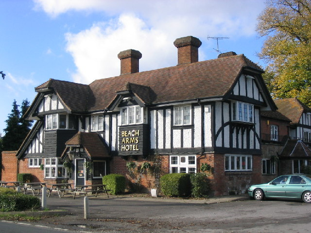 File Beach Arms Hotel At Oakley Near Basingstoke Geograph Org Uk