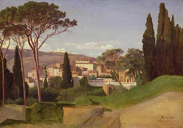 Villa Romana, por Jean Achille Benouville