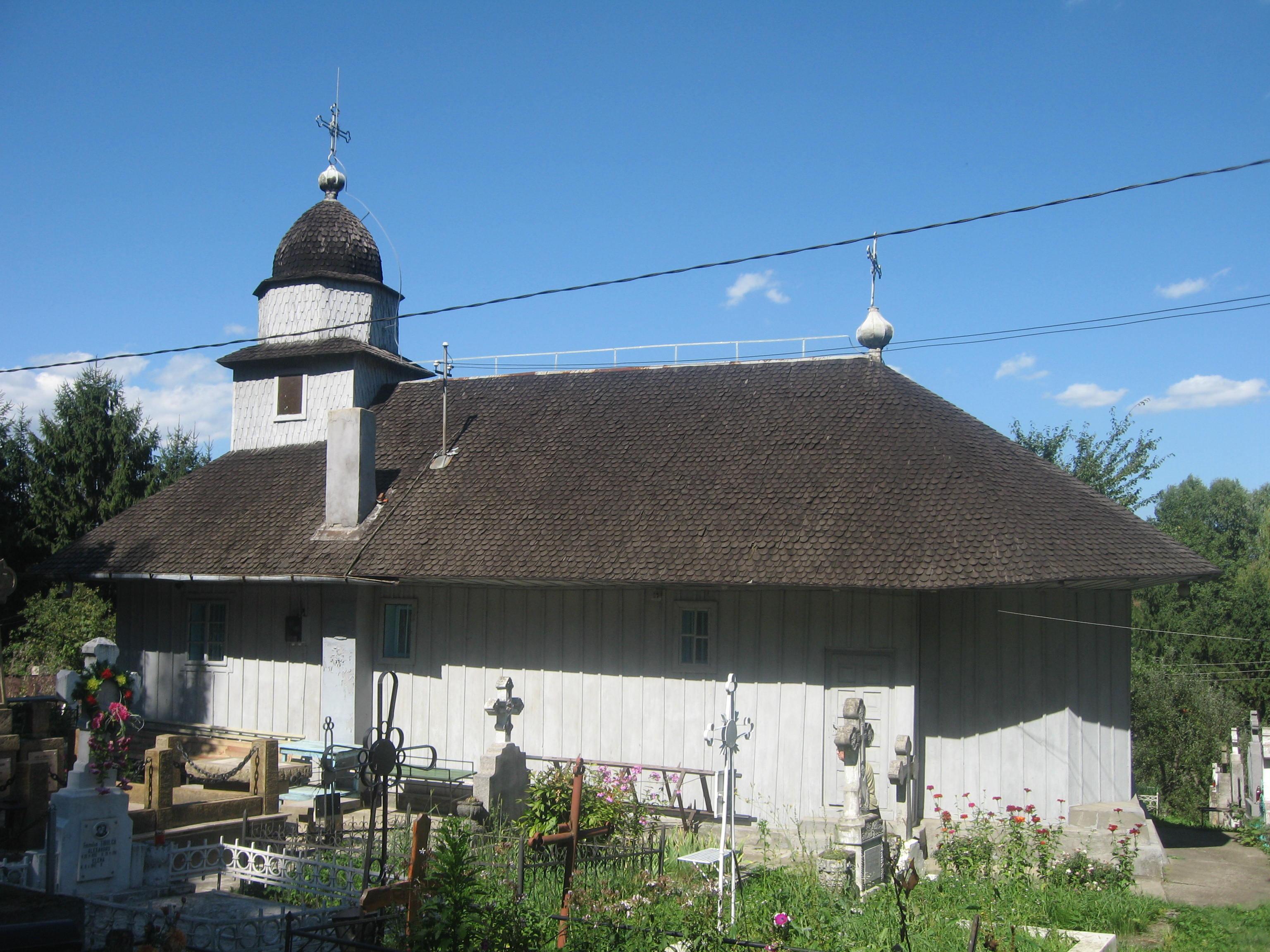 Biserica de lemn din Fălticeni