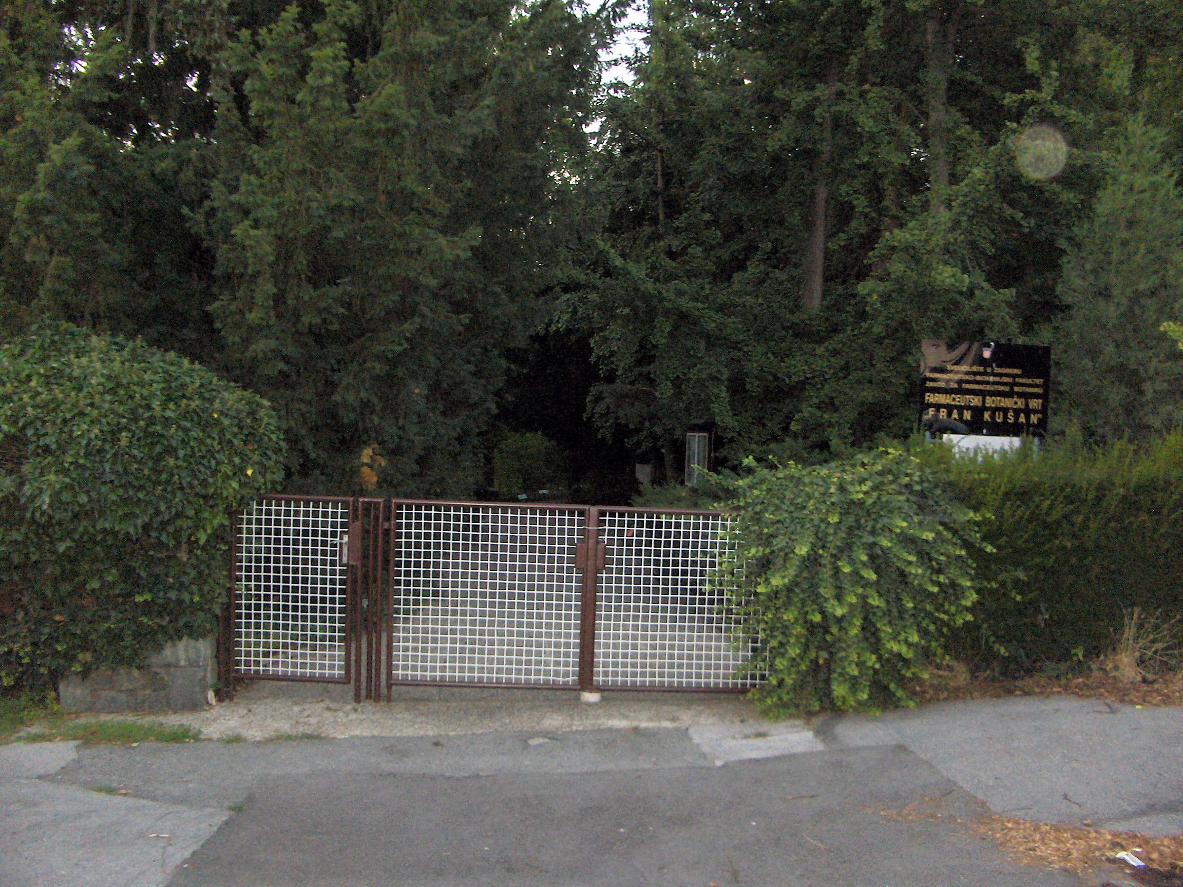 Botanicki Vrt Ljekovitoga Bilja Fran Kusan Wikipedija