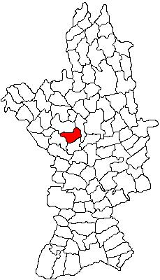 Vị trí của Brâncoveni
