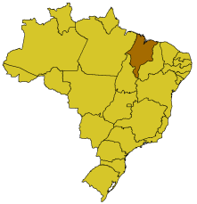 maranhão brasil mapa Maranhão   Mapa: Maranhão: Brasil maranhão brasil mapa