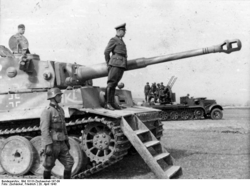 SS-Gruppenführer und Generalleutnant der Waffen-SS Walter Krüger
