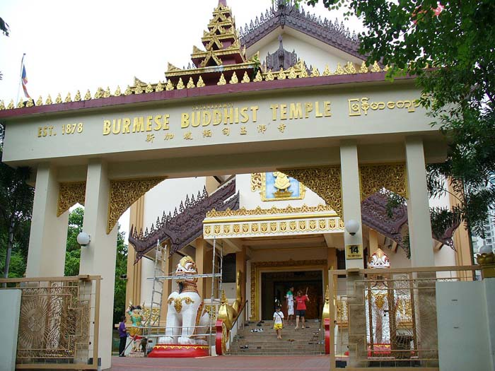 Burmese Buddhist Temple - Wikipedia
