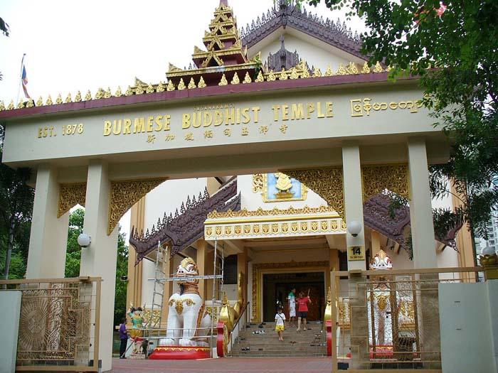Burmese Buddhist Temple @ Toa Payoh