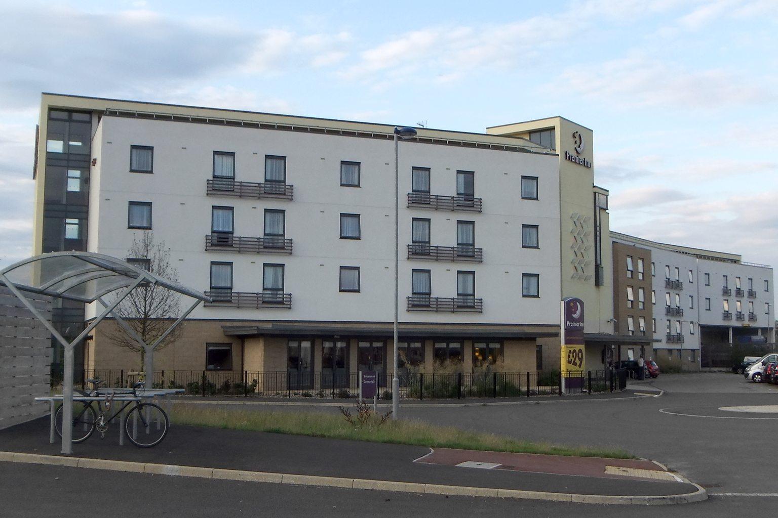 A suburban Premier Inn in