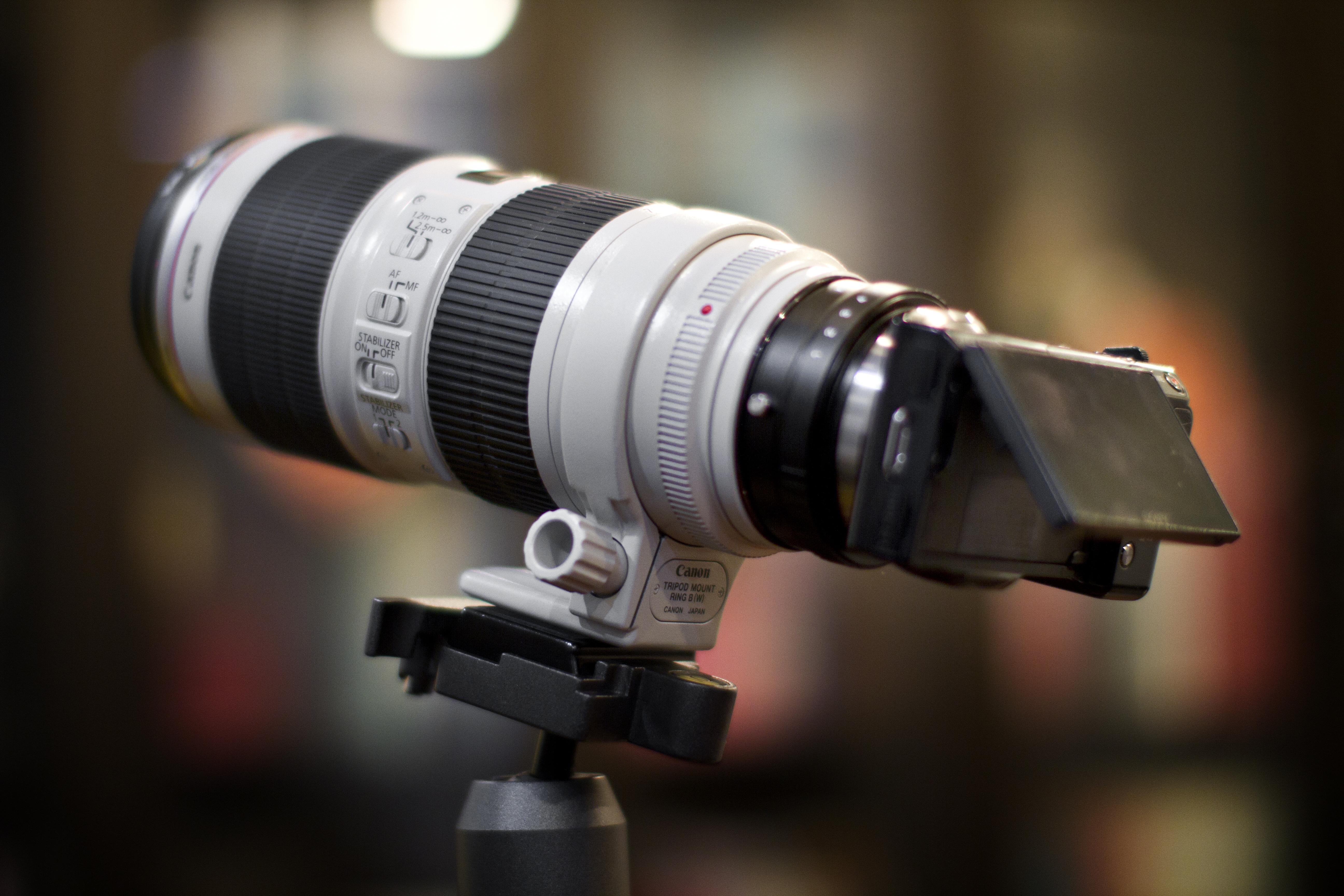 FileCanon 70 200mm F28 L IS II On NEX 5c