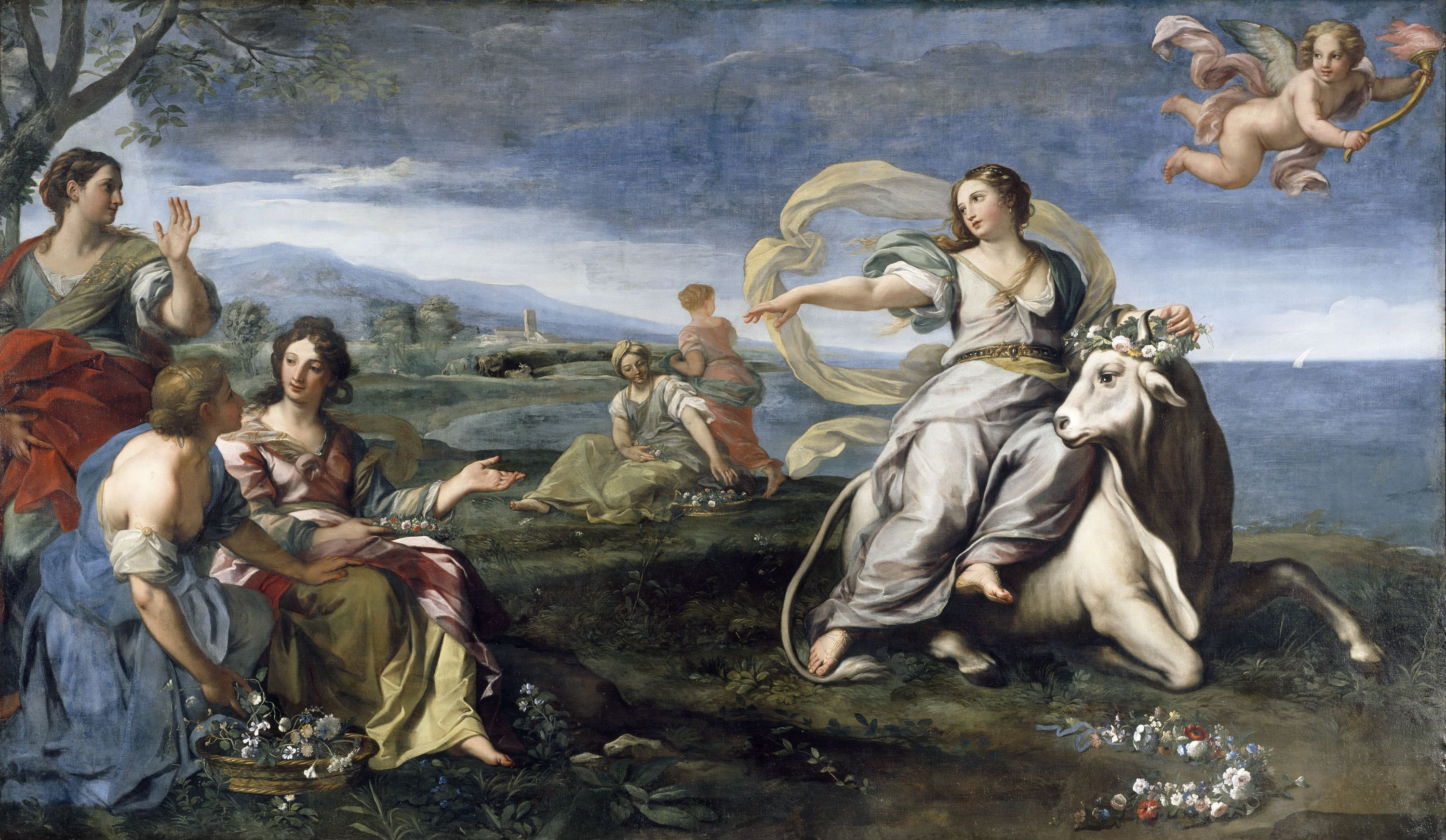 the rape of europa to the The rape of europa is a completely novel popular history of art book centering on one of titian's most.