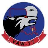 Carrier Airborne Early Warning Squadron 77 (US Navy) insignia, 1970.jpg