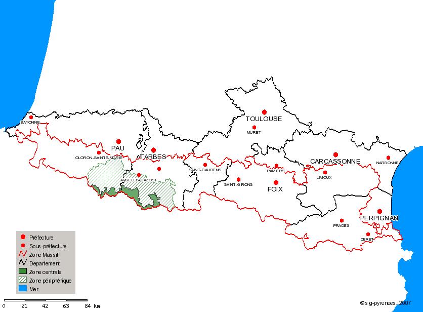 Fichier Carte Parc National Des Pyrenees Png Wikipedia