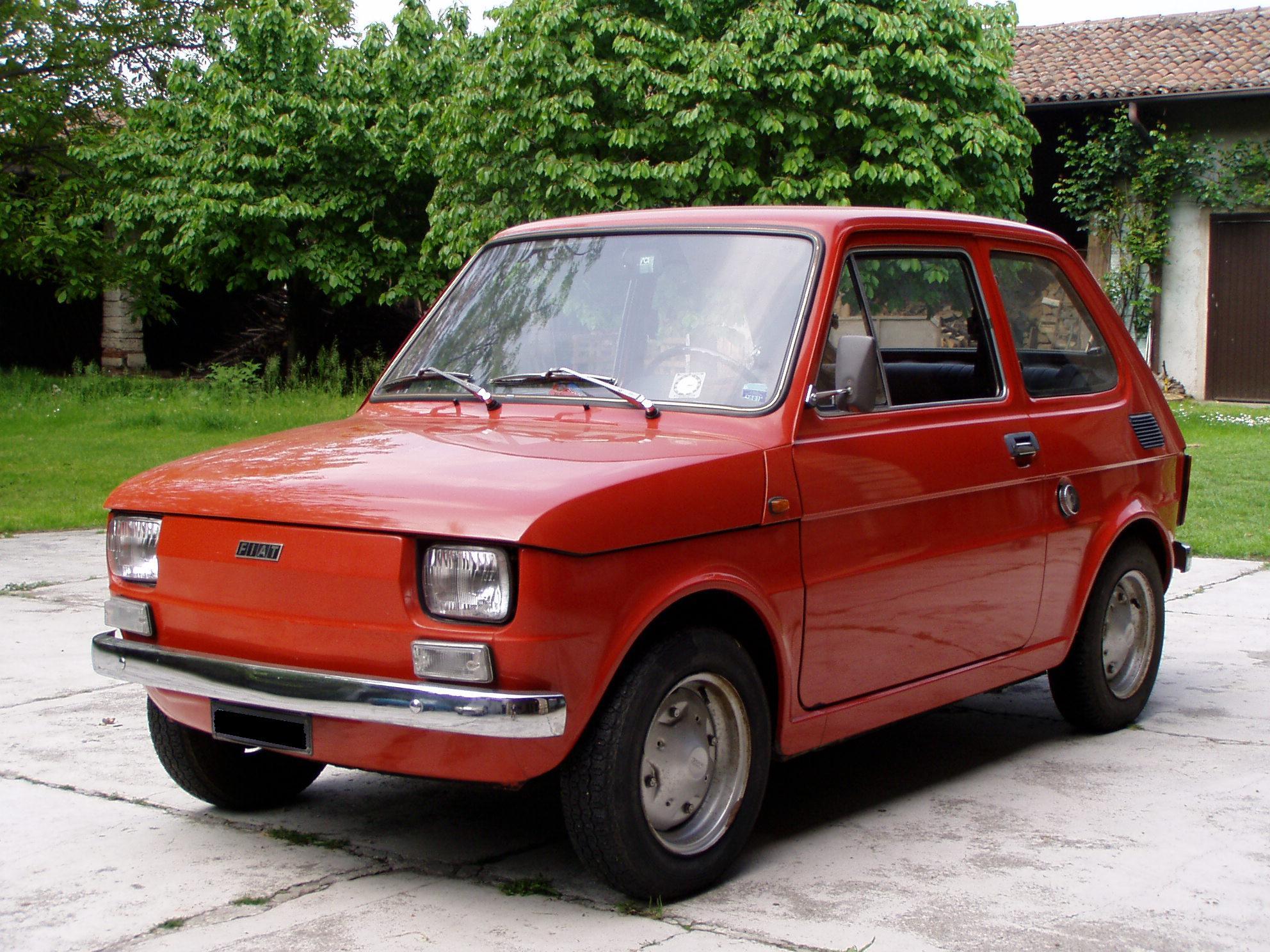 Il fait un rallye avec une vieille Fiat 126  vidéo Dailymotion