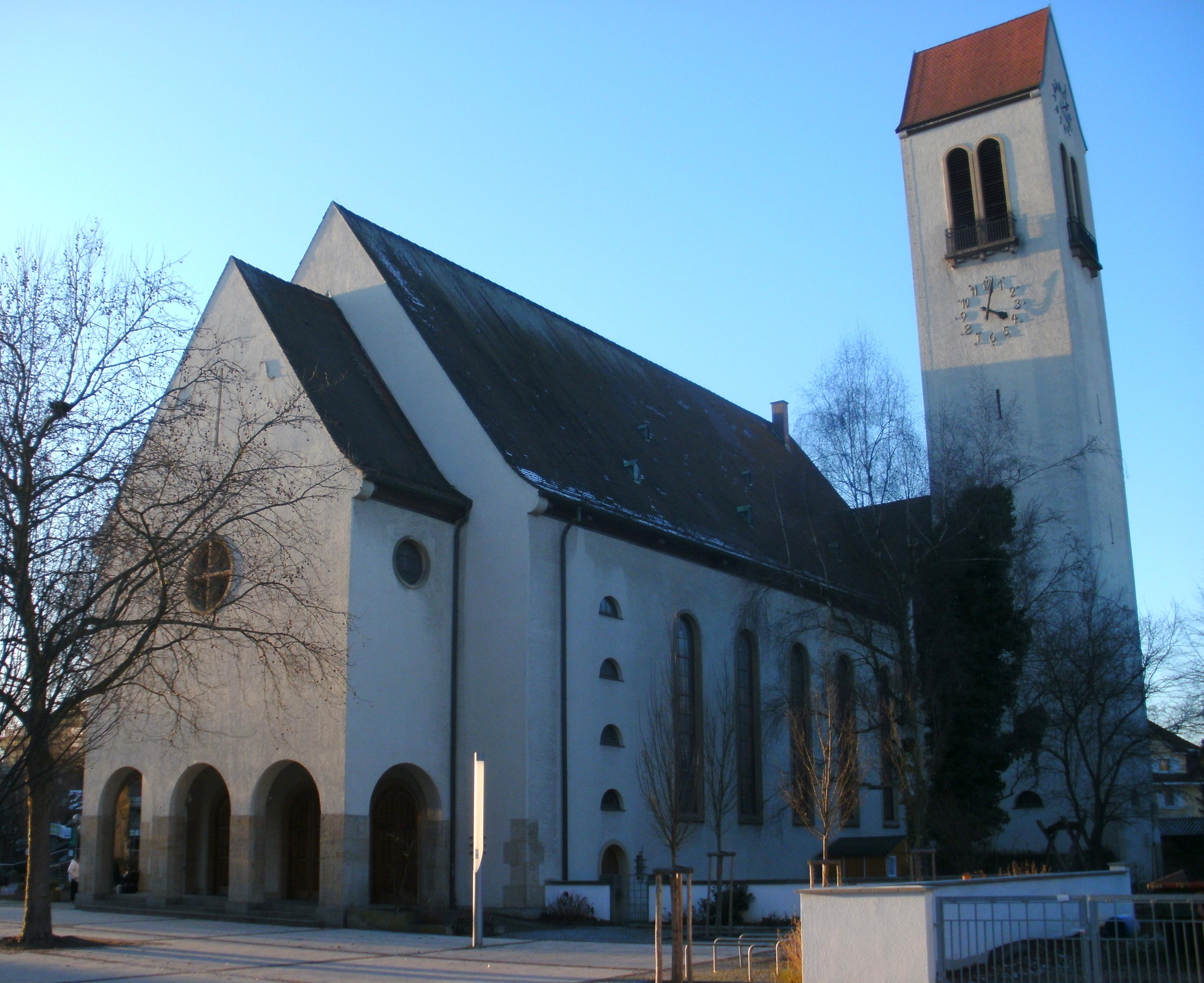 File christuskirche rheinfelden baden wikimedia commons for Freibad rheinfelden baden