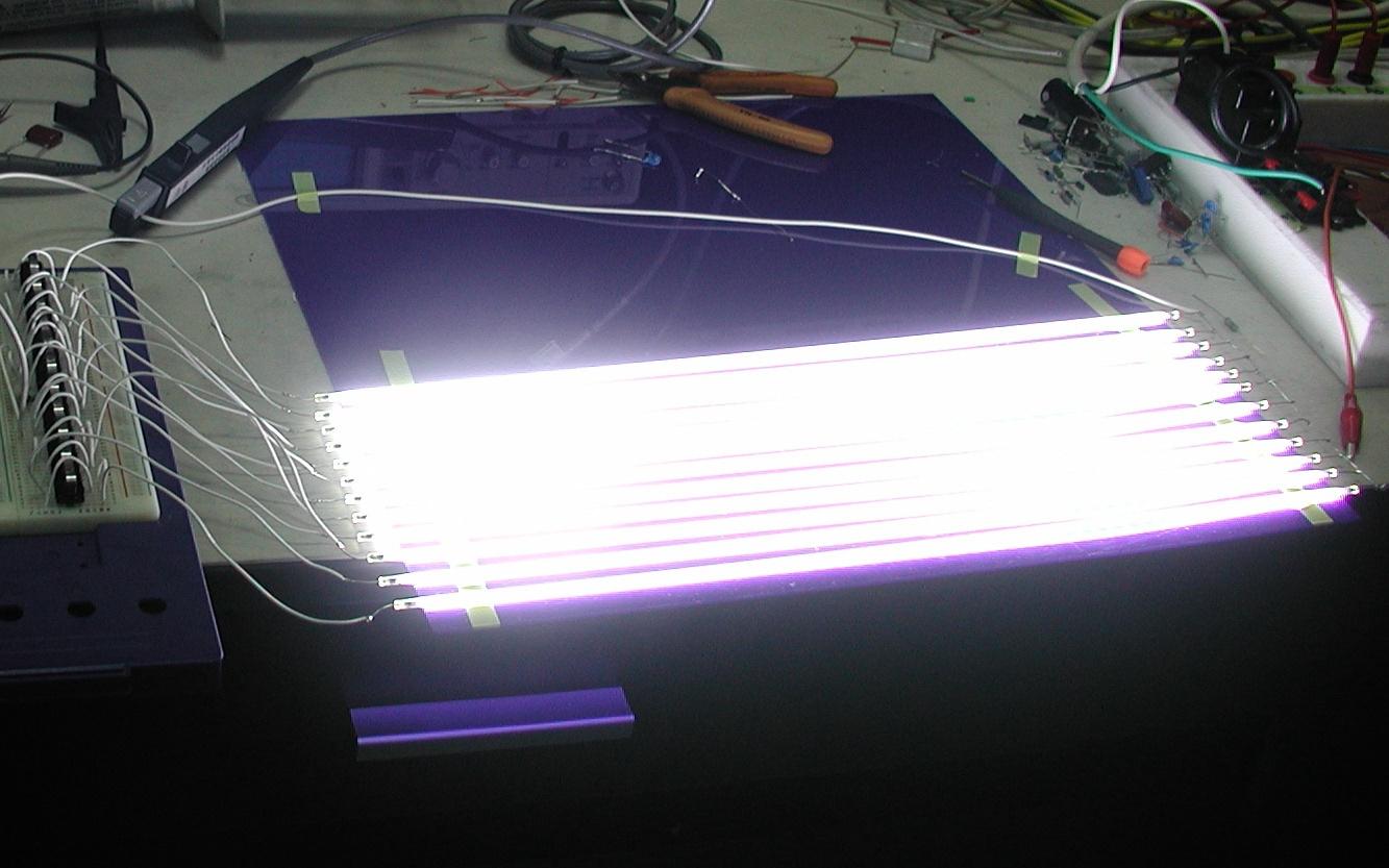 Leuchtrhre Wikipedia 12v 6 12 Watt Fluorescent Tube Neon Lamp Inverter