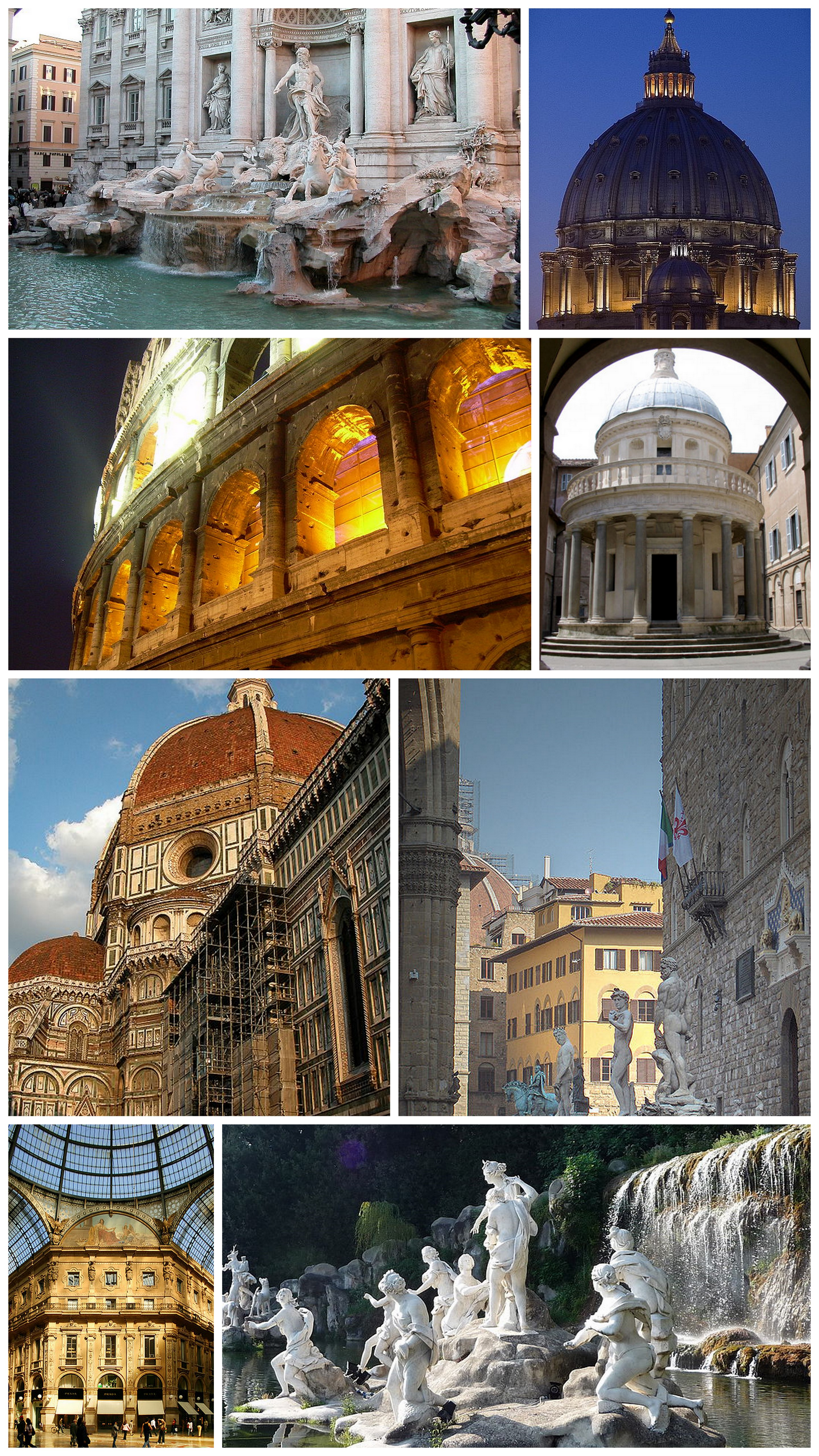 Neoclassicism: a selection of sites
