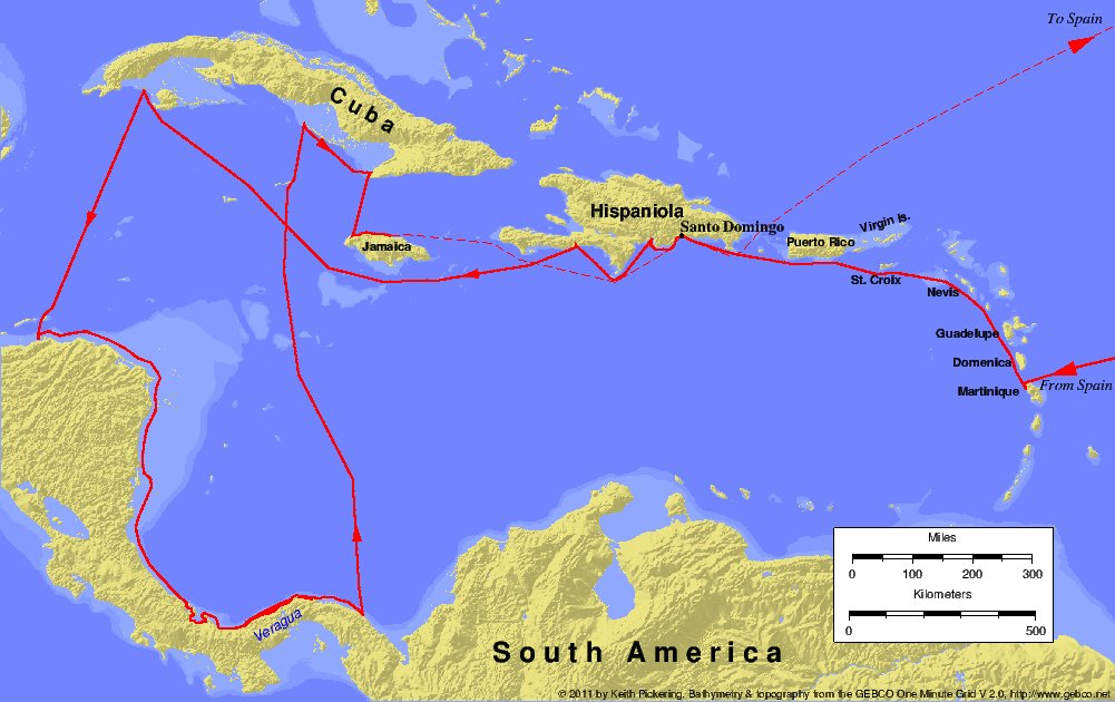 FileColumbus Fourth Voyagejpg  Wikimedia Commons
