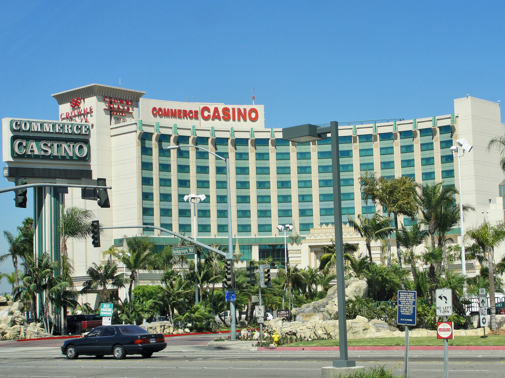 Commerce casino spa