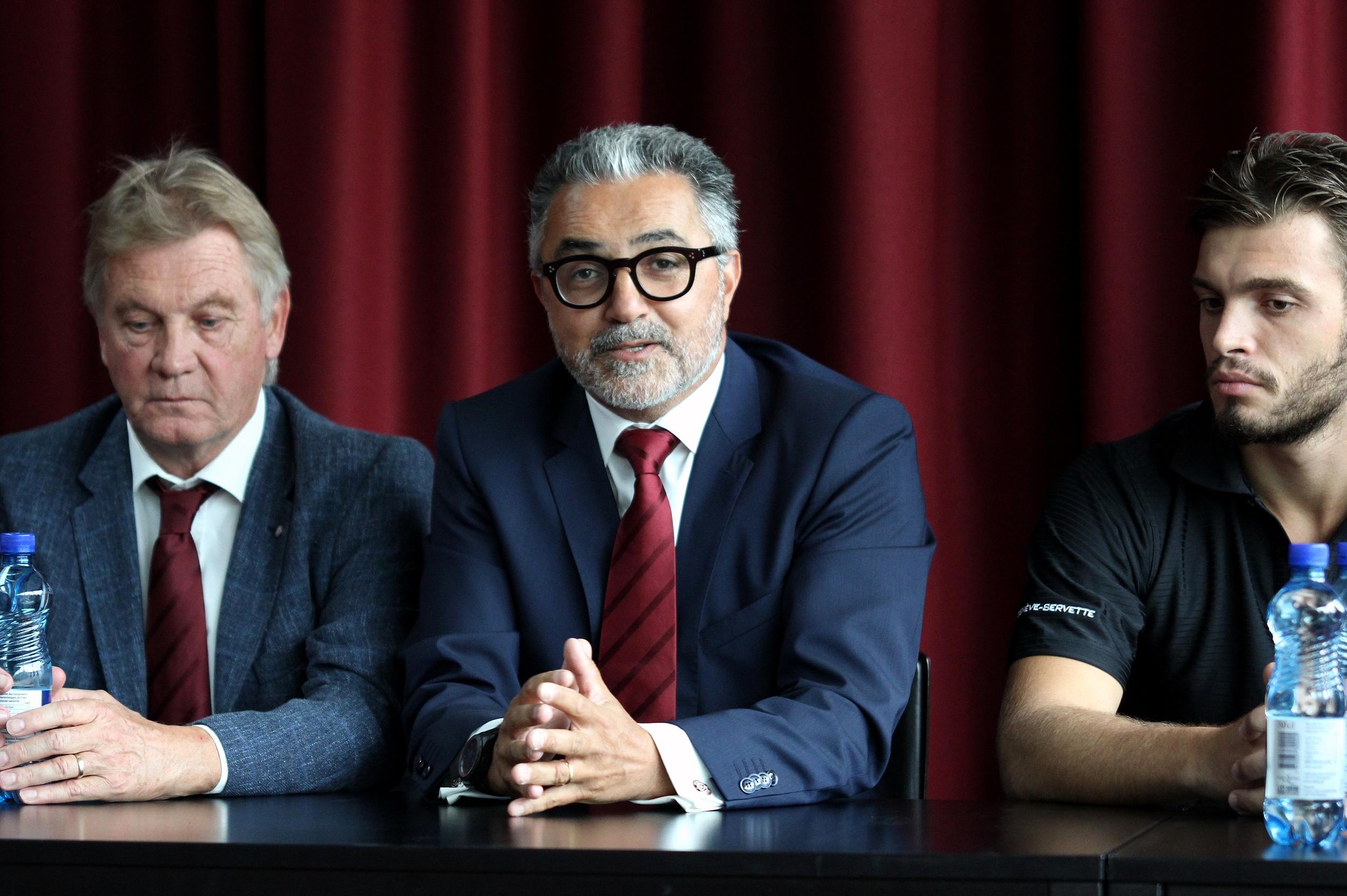 File:Conférence de presse pré-saison Genève-Servette HC ...