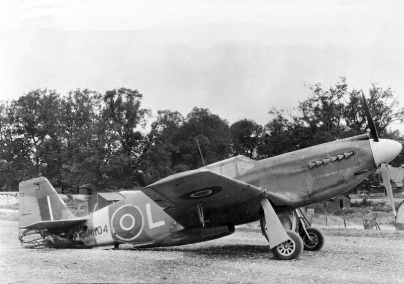 File:Damaged Mustang I 268 Sqn RAF at Odiham 1943.jpg