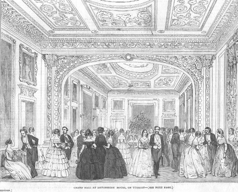 File devonshire house from the illustrated london news for The devonshire house
