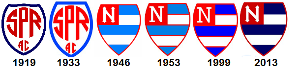 Crest evolution of Nacional